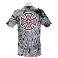 Independent Trucks Tie Dye Bar Cross T-Shirt Black 2