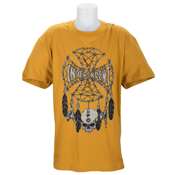 Independent Trucks Grind Catcher T-Shirt Gold