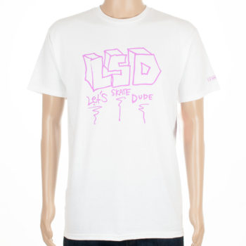 Krooked Skateboards T-Shirt LSDude White
