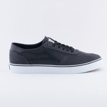 Lakai Shoes Manchester Lean Black Canvas