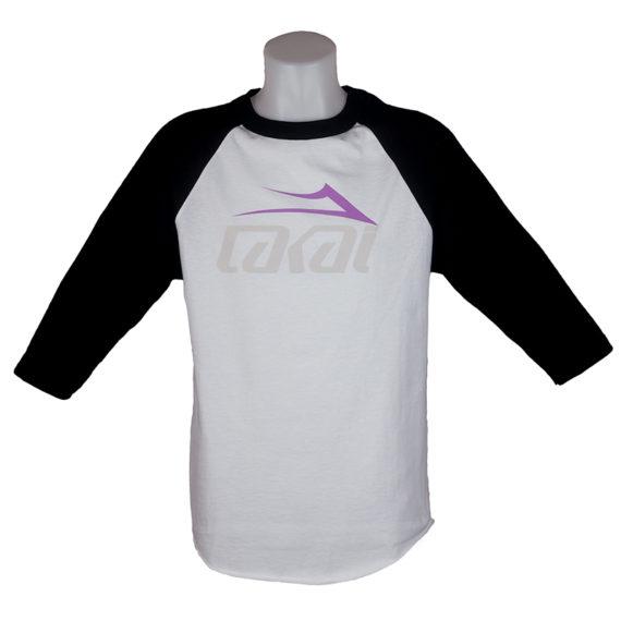 Lakai Tonal Raglan T-Shirt White Black