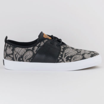 Lakai Footwear Echelon Albany Skate Shoes Swanski Black Grey
