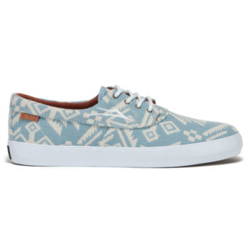 Lakai Shoes Camby Echelon Sky Blue Needlepoint