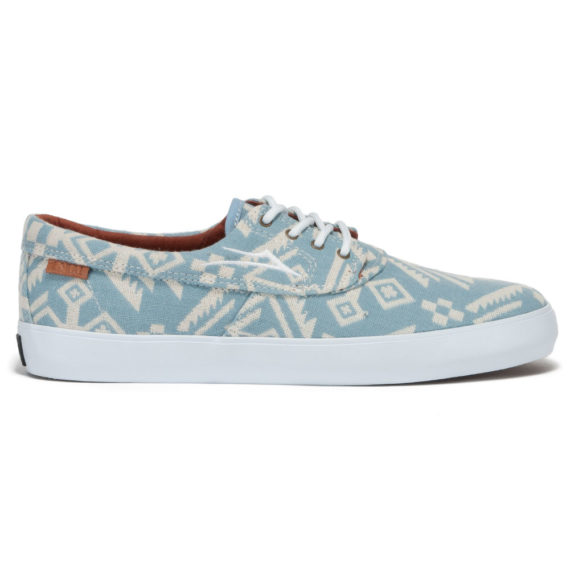 Lakai Shoes Camby Echelon Sky Blue Needlepoint