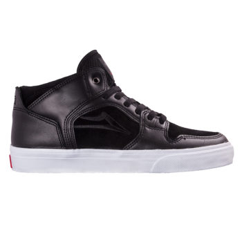 LAKAI x Diamond Telford Echelon Skate Shoes - Black Leather