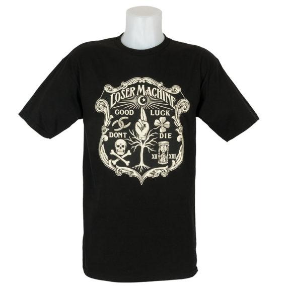 Loser Machine T-Shirt Eternal Black 1