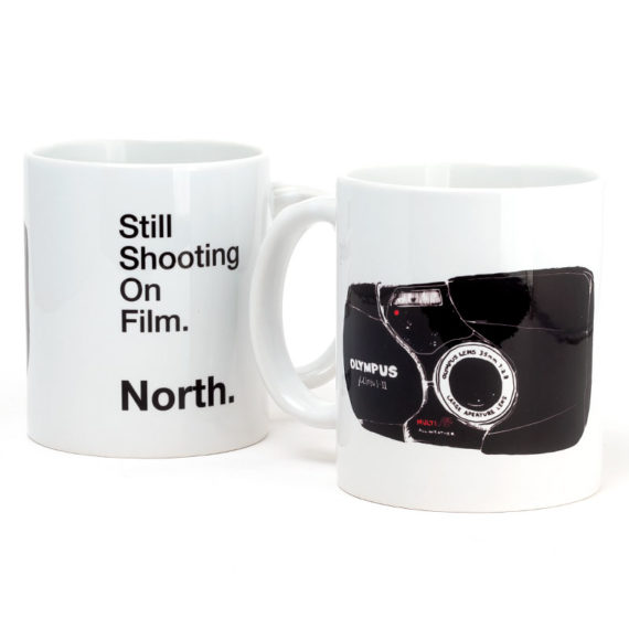 North Magazine Mug Still Shooting White 1