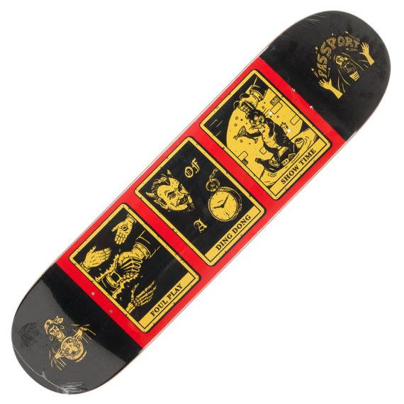 """Passport Skateboards Deck Magic Man Play 8.25"""""""