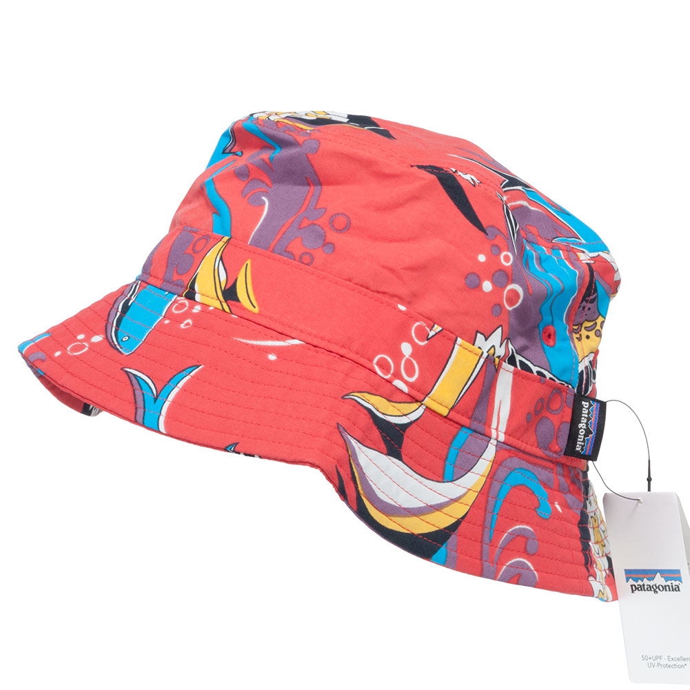 Patagonia bucket hat wavefarer paradise at skate pharm for Patagonia fish hat