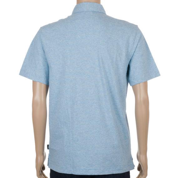Patagonia Mens Squeaky Clean Polo Shirt Skipper Blue