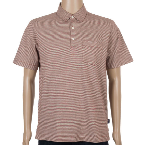 Patagonia Mens Squeaky Clean Polo Shirt Rusted Iron