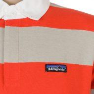 Patagonia Clothing Mens Sender Rugby Shirt Turkish Red