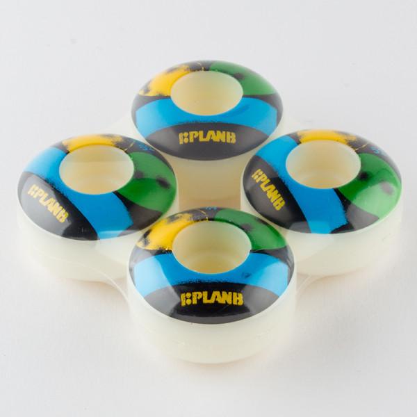 Plan B Stencil Logo Wheels 52mm