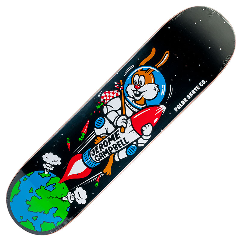 Buy Polar Skateboards P4 Deck Jerome Campbell Space Bunny at Skate Pharm