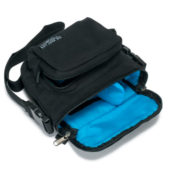 Quiet Life Clothing Camera Bag Black 3
