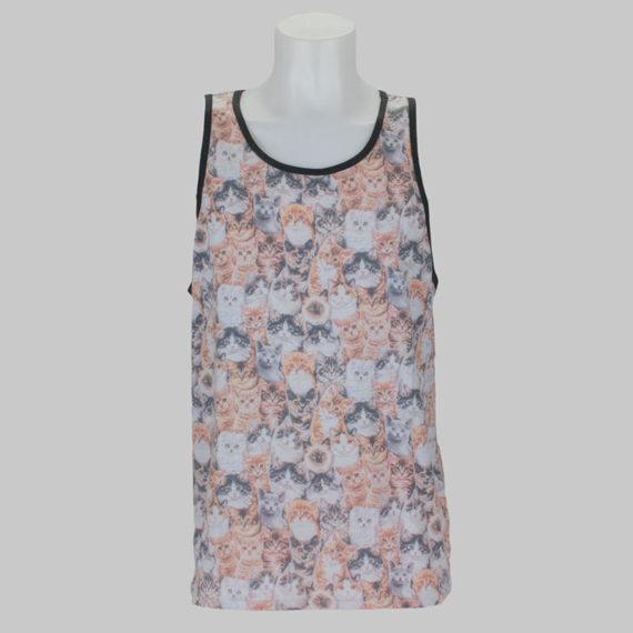 RipNDip Clothing Vest Nermal Allover Print 1