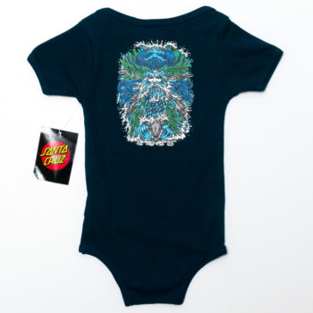 Santa Cruz Skateboards Baby Grow Sea God Navy