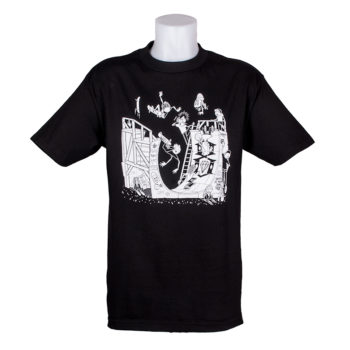 Rebel 8 Half Pipe Dudes T-Shirt Black