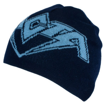 Ricta Wheels Beanie Reversible Black Blue