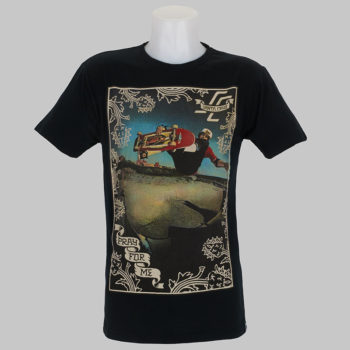 Santa Cruz Jason Jessee Vert Pray For Me T-Shirt Black