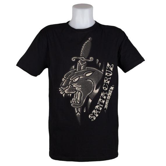 Santa Cruz T-Shirt Dressen Panther Black 1