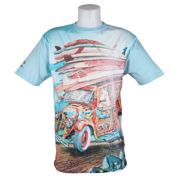 Santa Cruz T-Shirt Big Woody 1