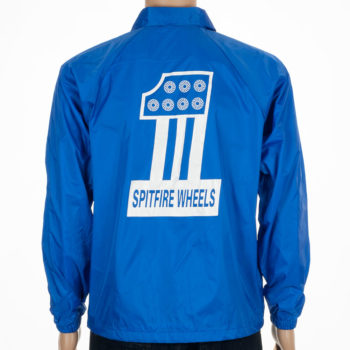 Spitfire Wheels Coach Jacket #1 Royal White