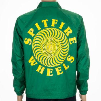 Spitfire Wheels Coach Jacket O.G. Classic Kelly Green Yellow