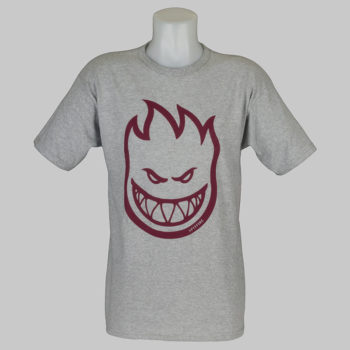 Spitfire Wheels T-Shirt Bighead Heather Burgundy