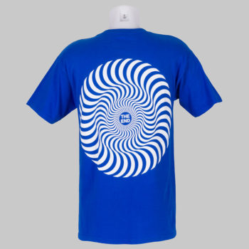 Spitfire Wheels T-Shirt Classic Swirl Royal