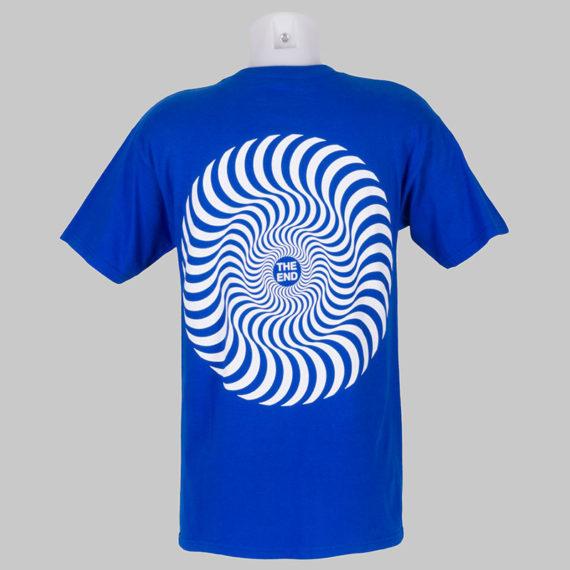Spitfire Wheels T-Shirt Classic Swirl Royal