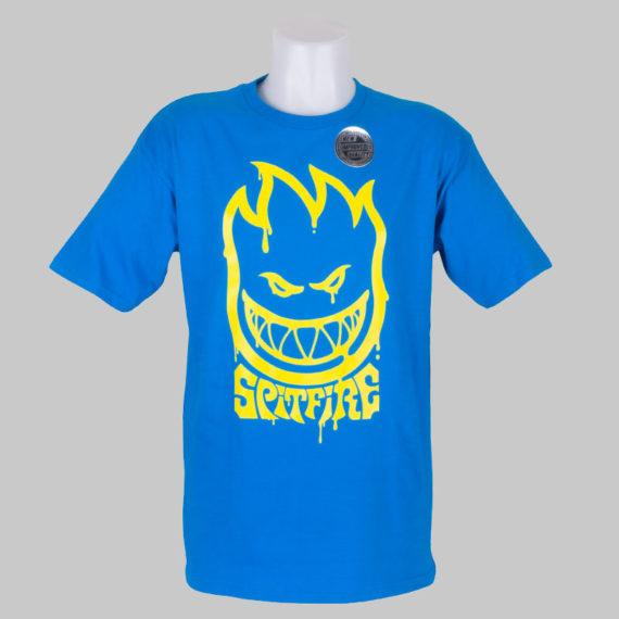 Spitfire Wheels T-Shirt Tripper Turquoise 1