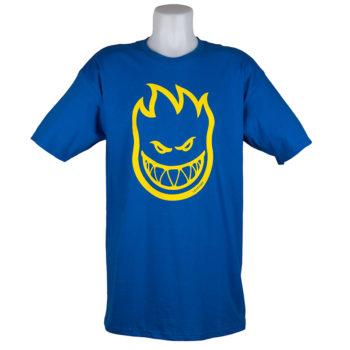 Spitfire Wheels T-Shirt Flamehead Royal Blue