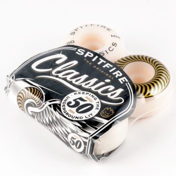 Spitfire Wheels Classics 50mm White