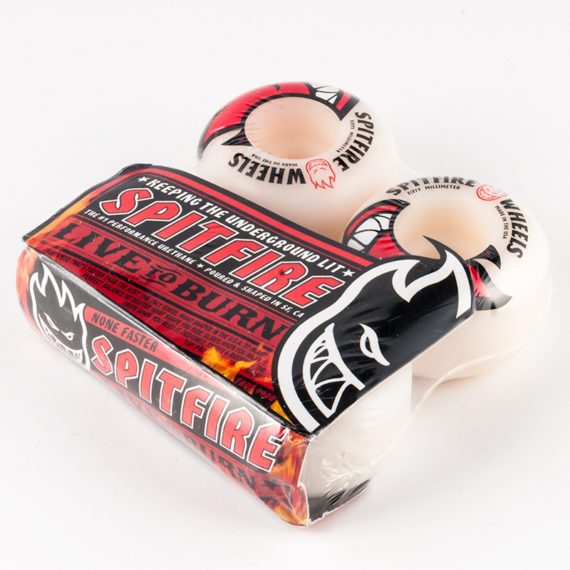 Spitfire Wheels Big Head Red Logo 50mm