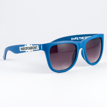 Independent Corey Sunglasses Navy x White