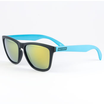 Independent Marina Sunglasses Black x Blue
