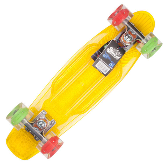 Sunset Skateboards Cruiser Rasta Complete 1