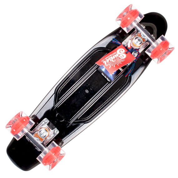 Sunset Skateboards Cruiser Smoke And Fire Complete 1