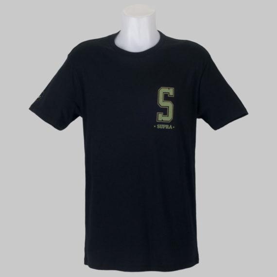 Supra Footwear T-Shirt Worldwide Tops Black 2