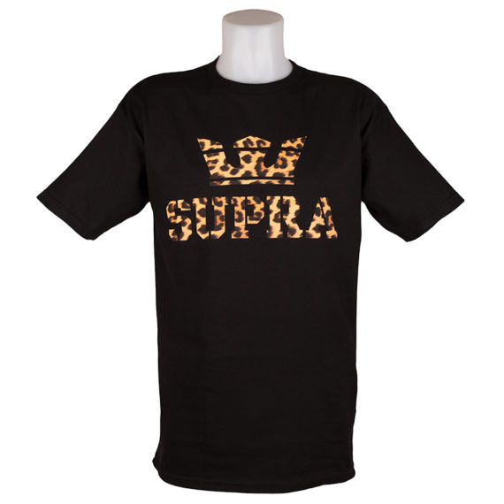 Supra T-Shirt Cheetah Black 1