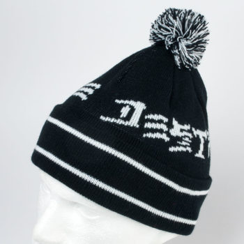 Thrasher Magazine Beanie Skate And Destroy Pom Black