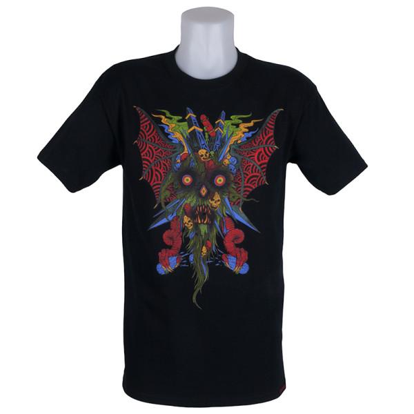Thrasher Magazine Neckface T-Shirt Black