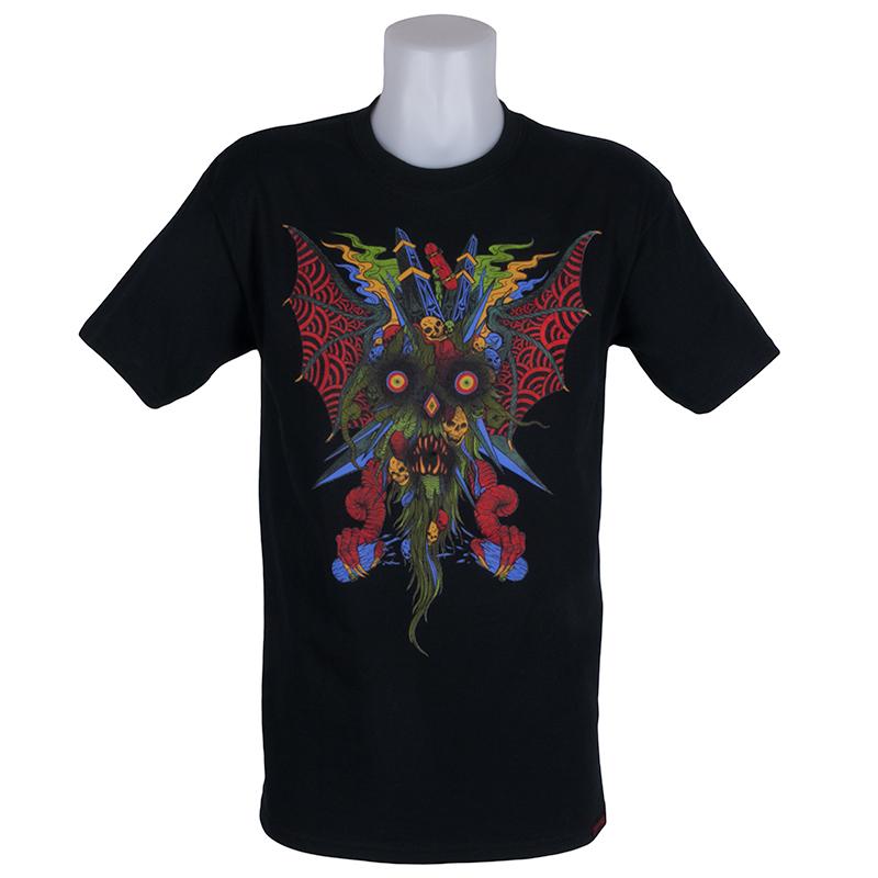 528f6c33b346 Home / Shop / Clothing / T Shirts / T-Shirts - Short Sleeve / Thrasher  Magazine Neckface T-Shirt Black
