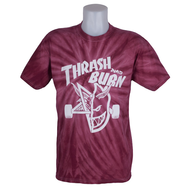 Thrasher Magazine Thrash and Burn T-Shirt