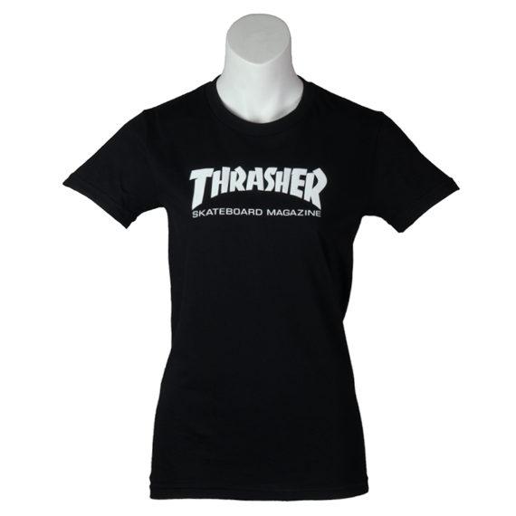 Thrasher Girls T-Shirt Black 1
