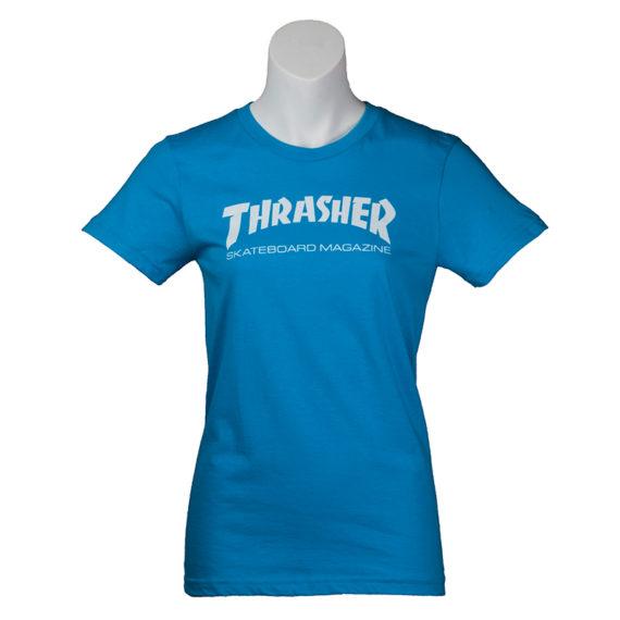 Thrasher Girls T-Shirt Teal 1