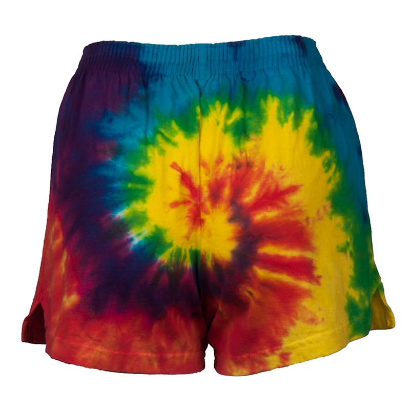 thrasher tie dye skategoat shorts rainbow at skate pharm