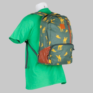 Volcom Clothing Backpack Basis Canvas Jungle Green