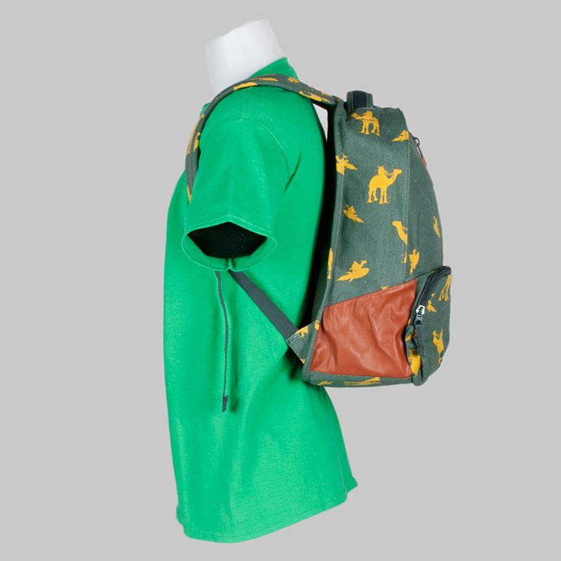 Volcom Clothing Backpack Basis Canvas Jungle Green 2